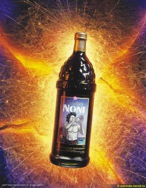 Сок Нони и его свойства
