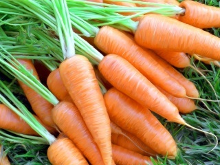 Сырые овощи для лечения налета