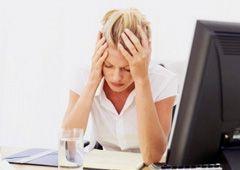 Причины болей в области лба