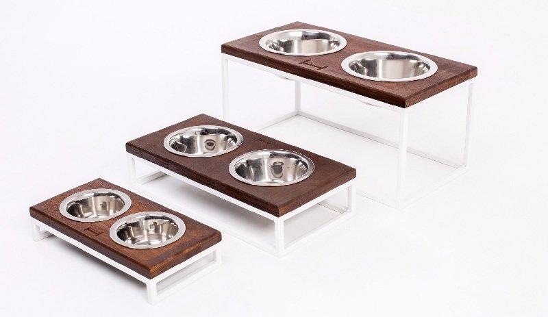 Миски керамические для собак на подставке