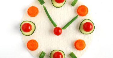 Правильный режим питания по часам