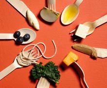 Раздельное питание - таблица совместимости продуктов меню