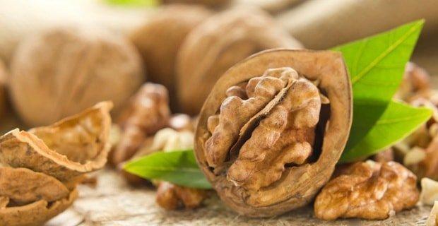 Грецкие орехи для сжигания жира