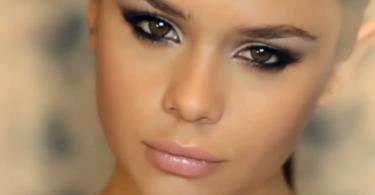 Как создать яркий клубный макияж - видео урок