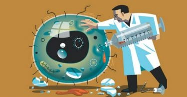 Антимикробная защита организма при ожоге