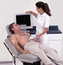 Диагностирование аневризмы сердца