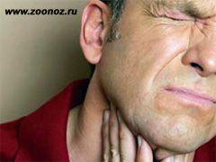 Если болит горло при глотании