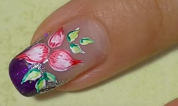 Как украсить ногти лаком самостоятельно