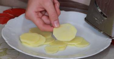 Как сделать чипсы своими руками