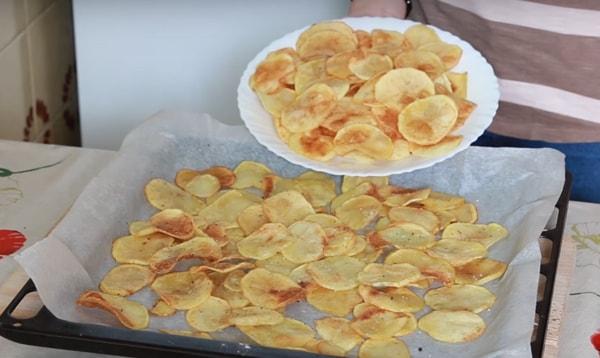 Как приготовить чипсы в домашних условиях на сковороде