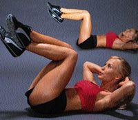 Как убрать жир с боков - упражнения