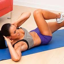 Упражнения на пресс дома для девушек в картинках