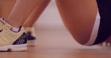 Упражнения для ягодиц в домашних условиях - видео