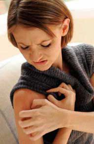 Мелкая сыпь на теле у взрослого не чешется