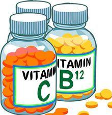 Водорастворимые витамины - таблица
