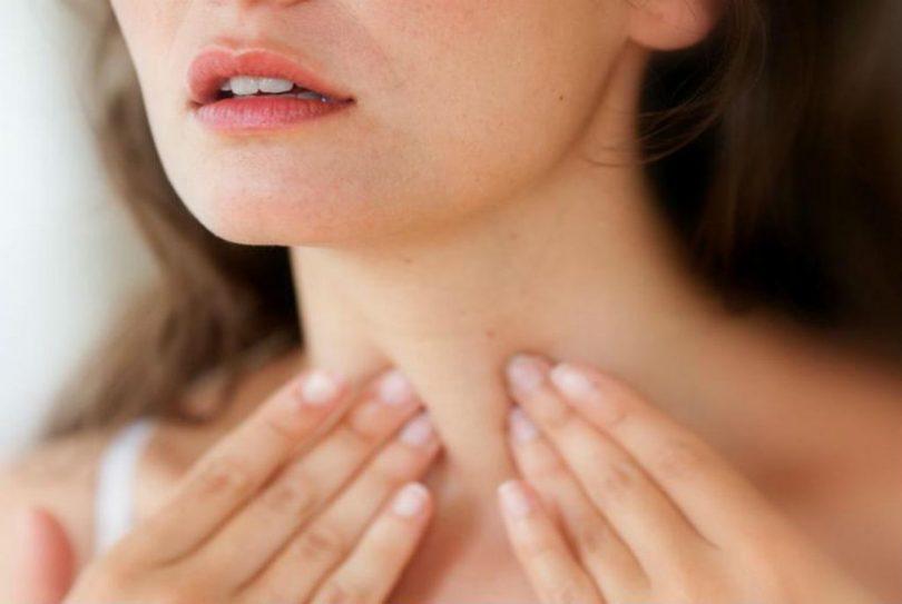 Симптомы при раке щитовидной железы