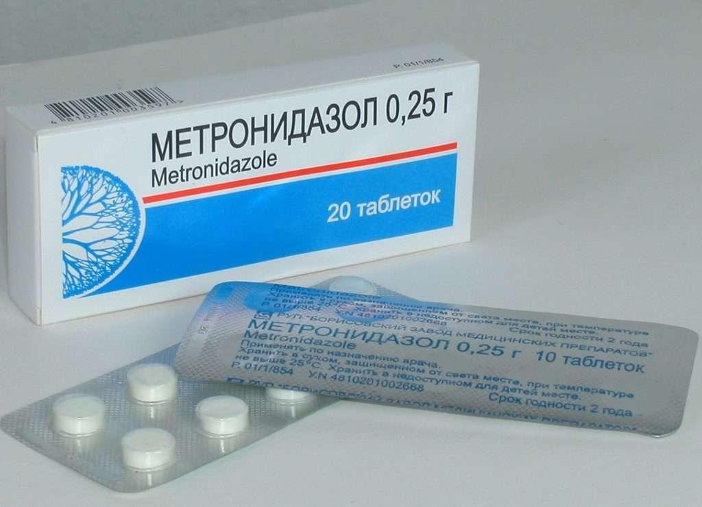 Лечение молочницы Метронидазолом
