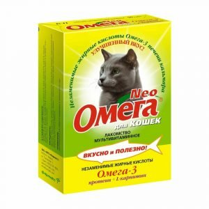 Омега - витамины для кошек - отзывы